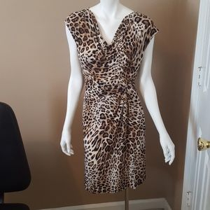 Madison Animal Print Dress